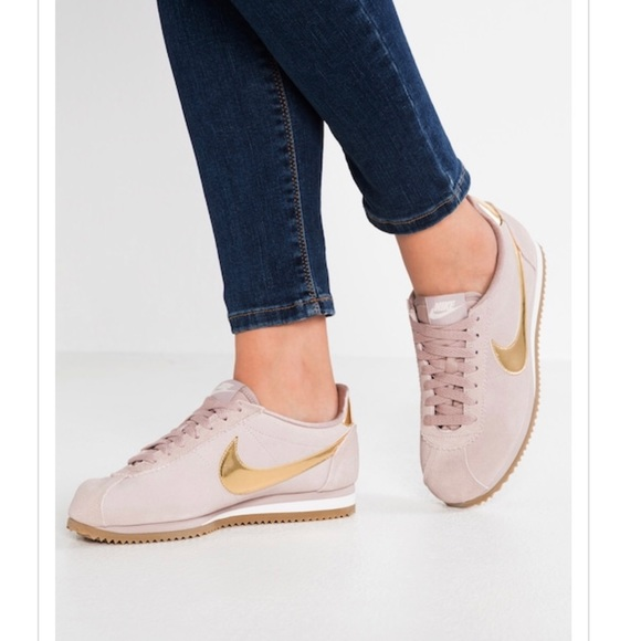 Nike Cortez Limited Edition Gold Taupe